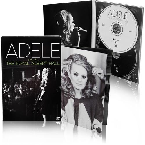 dvd + cd adele live the royal albert hall * lacrado original