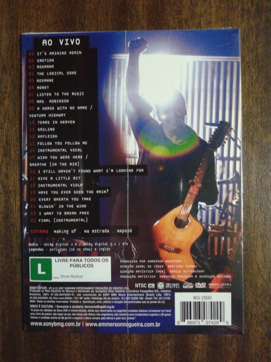cd emmerson nogueira ao vivo volume 2