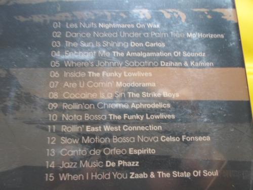 dvd + cd joia sunset por luciano huck / novo