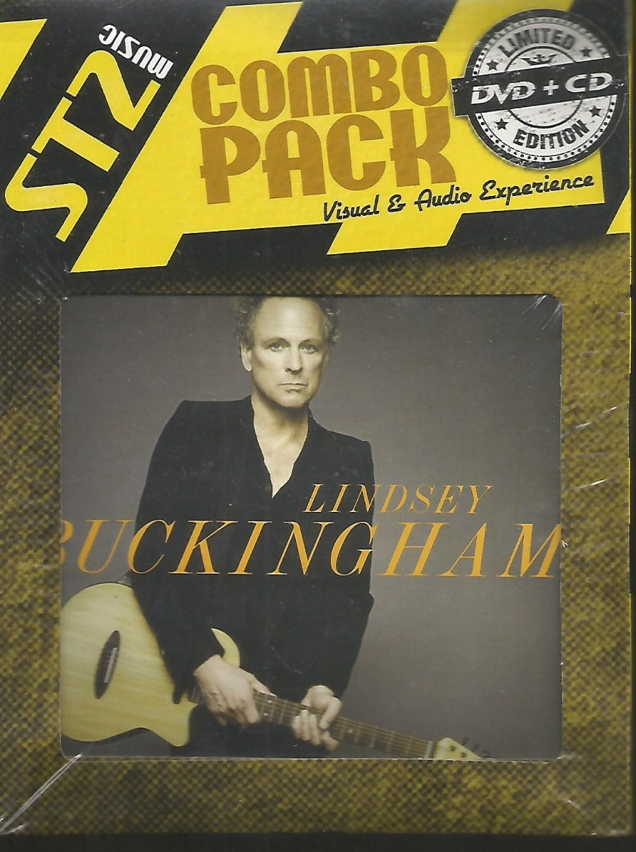 Dvd + Cd - Lindsey Buckingham - Songs From Small Machine Lac