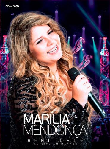 dvd+cd marilia mendonça realidade ao vivo em manaus 2017