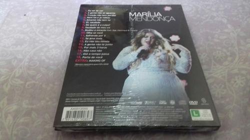 dvd + cd marília mendonça realidade lacrado