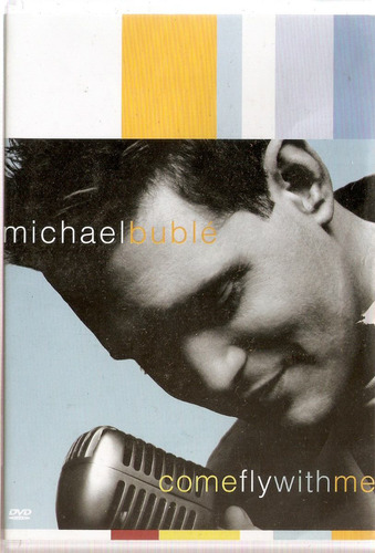 dvd + cd michael bublé -  come fly with me - usado***