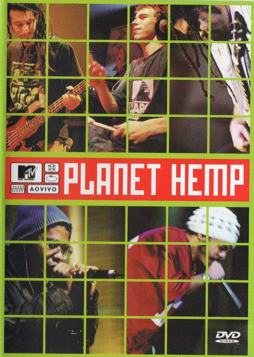 dvd planet hemp ao vivo mtv