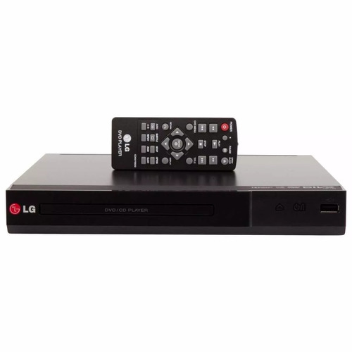 dvd cd player lg dp132 com entrada usb dolby digital
