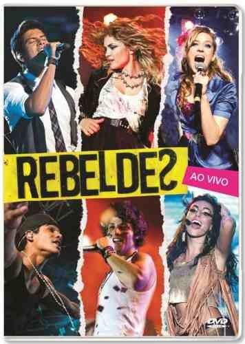 dvd + cd  rebeldes -ao vivo record -original lacrado novo