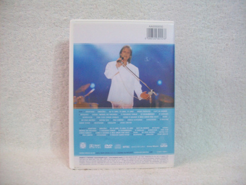 dvd + cd roberto carlos- pra sempre- ao vivo no pacaembu