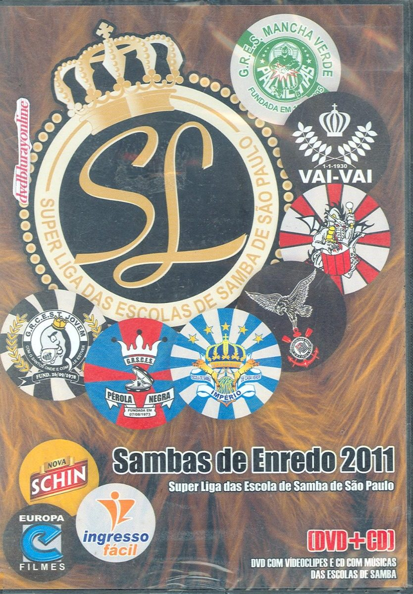 cd samba enredo 2011 sp