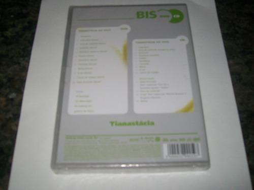 dvd + cd tianastácia - série bis* novo lacrado de fábrica