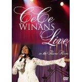 dvd  cece winans: live in the throne room