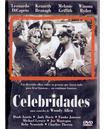 dvd celebridades - woody allen - novo***