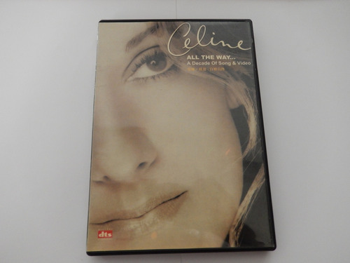 dvd celine dion - all the way
