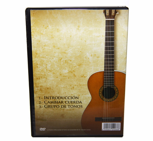 dvd chamín correa, aprendiendo a tocar guitarra promo