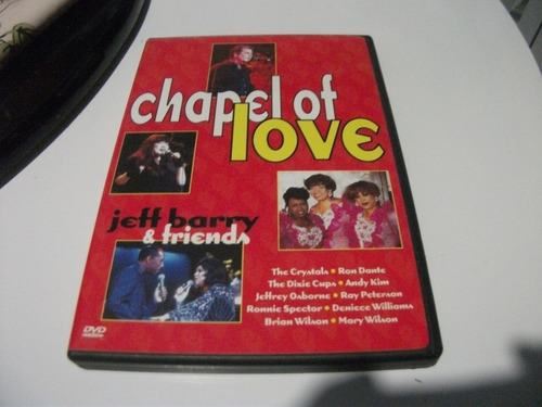dvd chapelot love jeff barry e friends importado e8b3