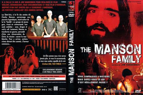 dvd charles chalie manson family retrato de un demente real