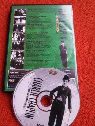 dvd charlie chaplin - fase de ouro