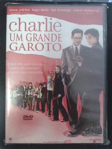 dvd - charlie - um grande garoto