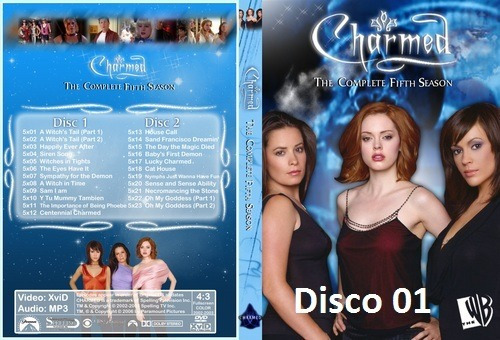 dvd - charmed - 5º temporada - legendado