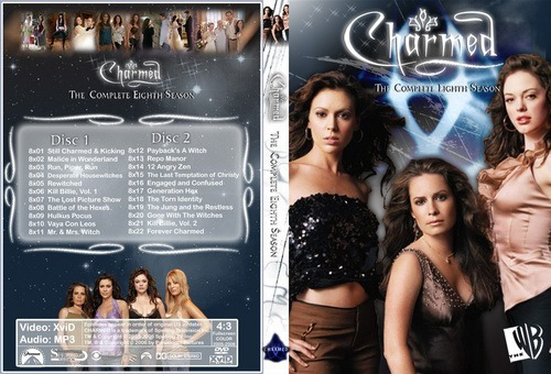 dvd - charmed - 8º temporada - legendado