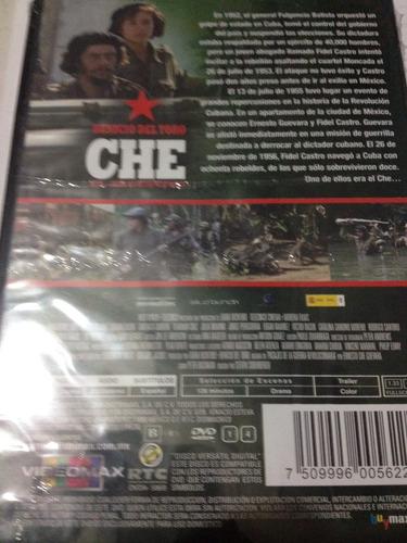 dvd che el argentino. nuevo!!!!