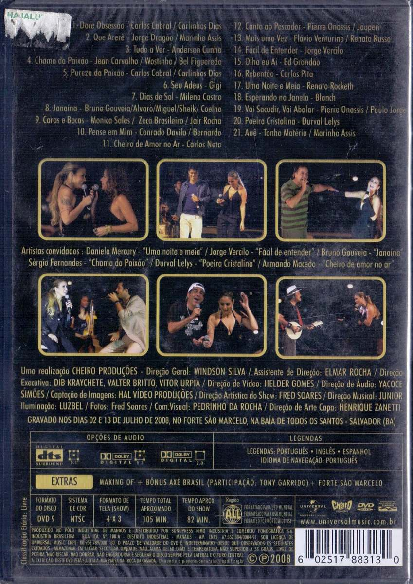ACUSTICO CHEIRO AMOR BAIXAR DVD AUDIO DE