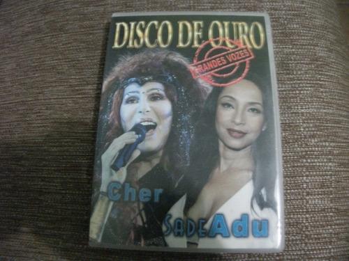 dvd cher e sade disco de ouro grandes sucessos