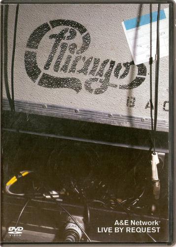 dvd chicago - a & e network - live by request - usado***
