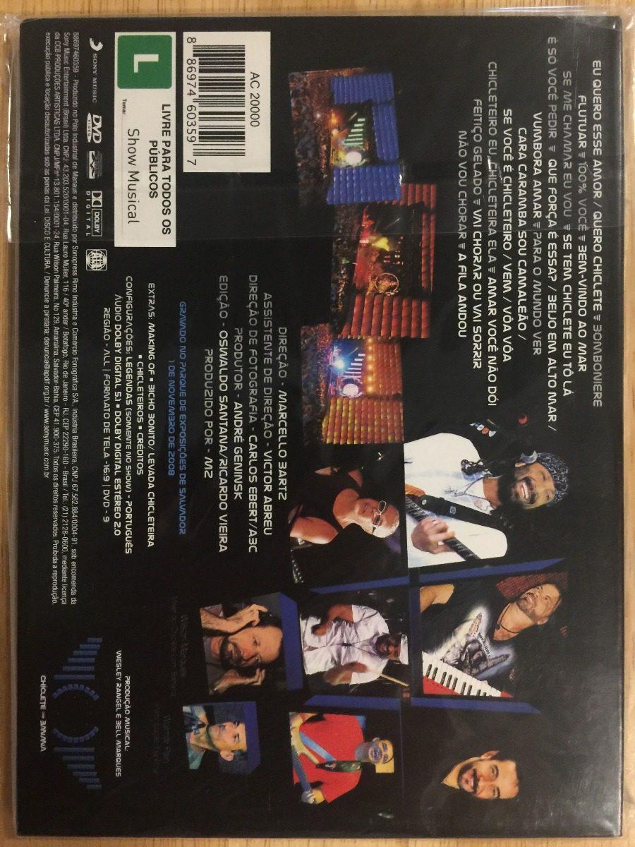 dvd chiclete 2009