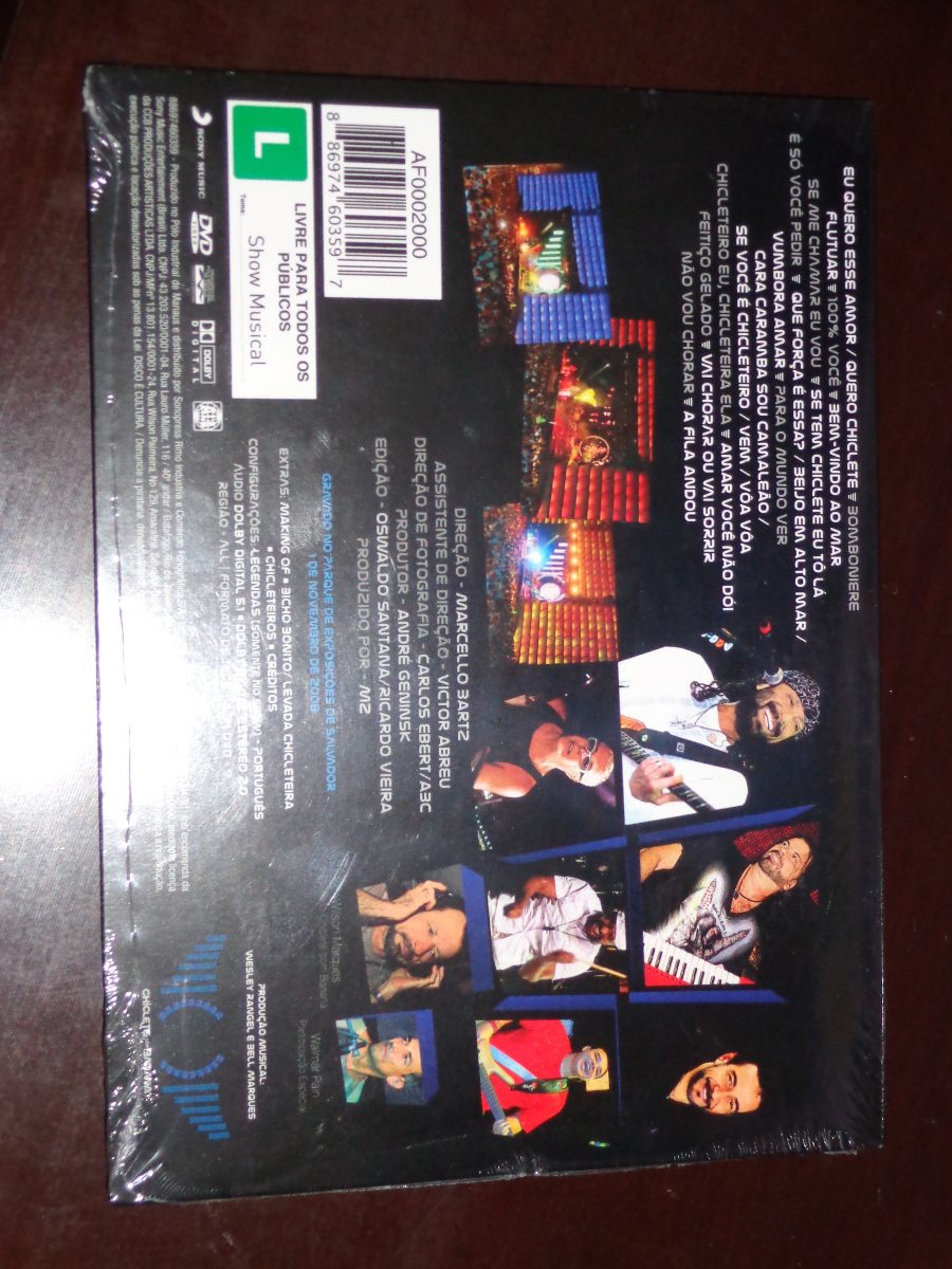 dvd chiclete com banana 2009 para