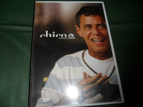 dvd-chico buarque - 10 cinema - original lacrado