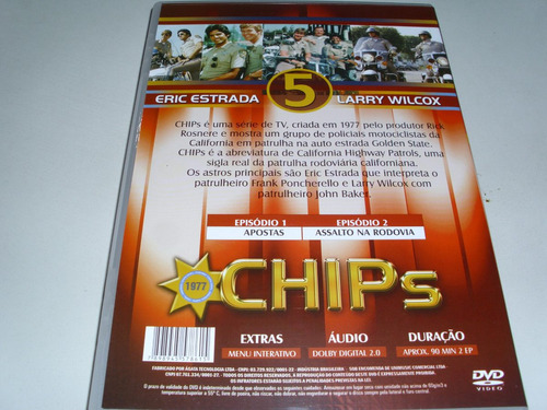 dvd chips 1977 dublado volume 5