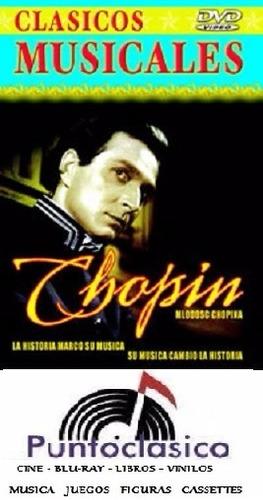 dvd - chopin - la vida de chopin