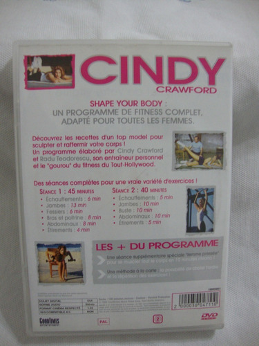 dvd cindy crawford shape your body