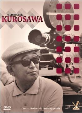 dvd cinema de akira kurosawa  vol.1,  com 3 dvds 5 filmes +