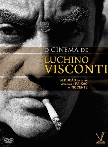dvd cinema de luchino visconti, 3 dvds digistack com cards +