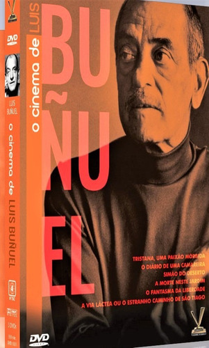 dvd cinema de luis buñuel, digistack com 3 dvds 6 filmes +