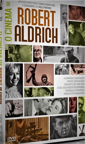 dvd cinema de robert aldrich, 3 dvds 6 filmes - 1954-1971 +