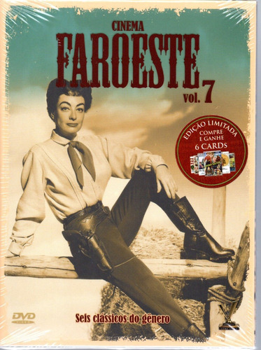 dvd cinema faroeste vol 7 com cards versatil bonellihq g19