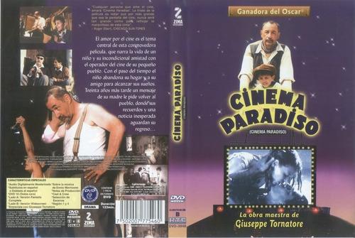 dvd cinema paradiso paraiso ganadora del oscar tampico