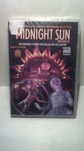 dvd cirque du solei midnight sun - dvd original