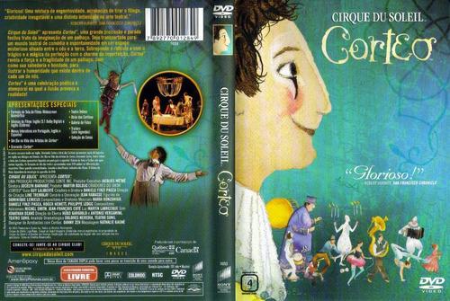 dvd cirque du soleil - corteo