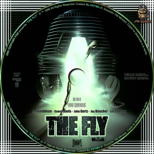 dvd clasica the fly la mosca horror gore goldblum tampico
