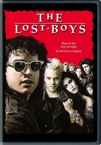 dvd clasica vampiros the lost boys los muchachos perdidos