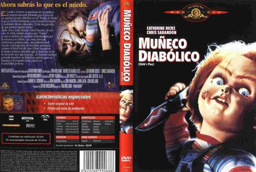 dvd clasico childs play chucky 1 el muñeco diabolico tampico