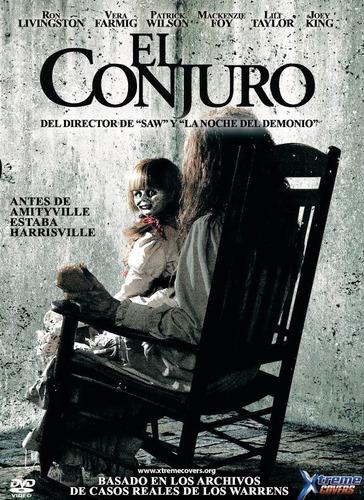 dvd clasico el conjuro the conjuring diablo demonio tampico
