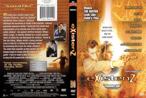 dvd clasico gore culto existenz matrix es un juego tampico