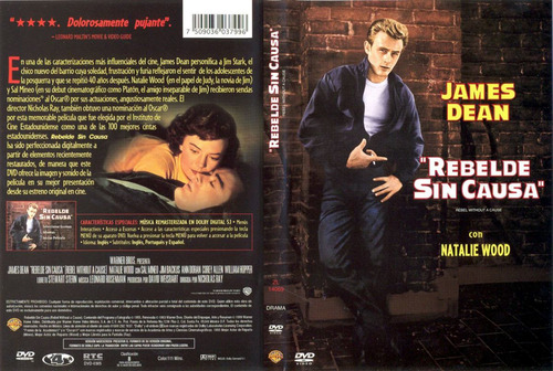 dvd clasico rebel without a cause rebelde sin causa tampico