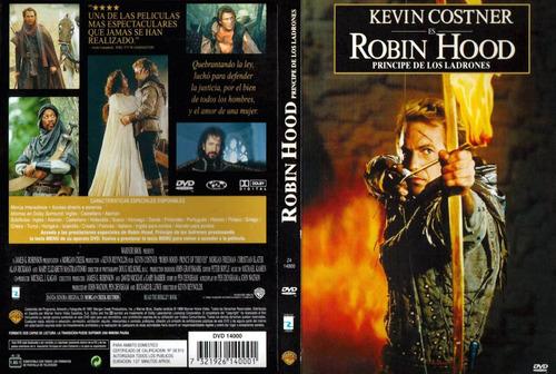 dvd clasico robin hood el principe de los ladrones tampico