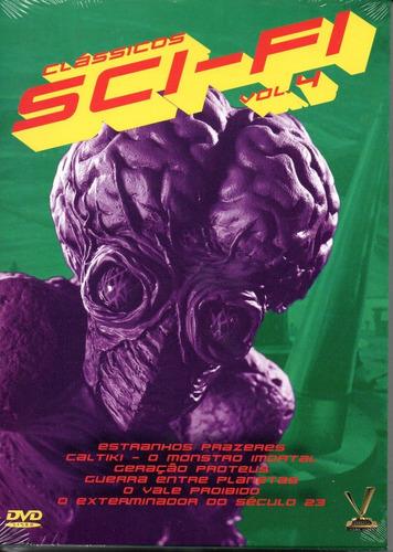 dvd classicos sci-fi vol 4 sem cards versatil bonellihq i19