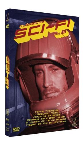dvd classicos sci-fi vol 6 com cards versatil bonellihq l19